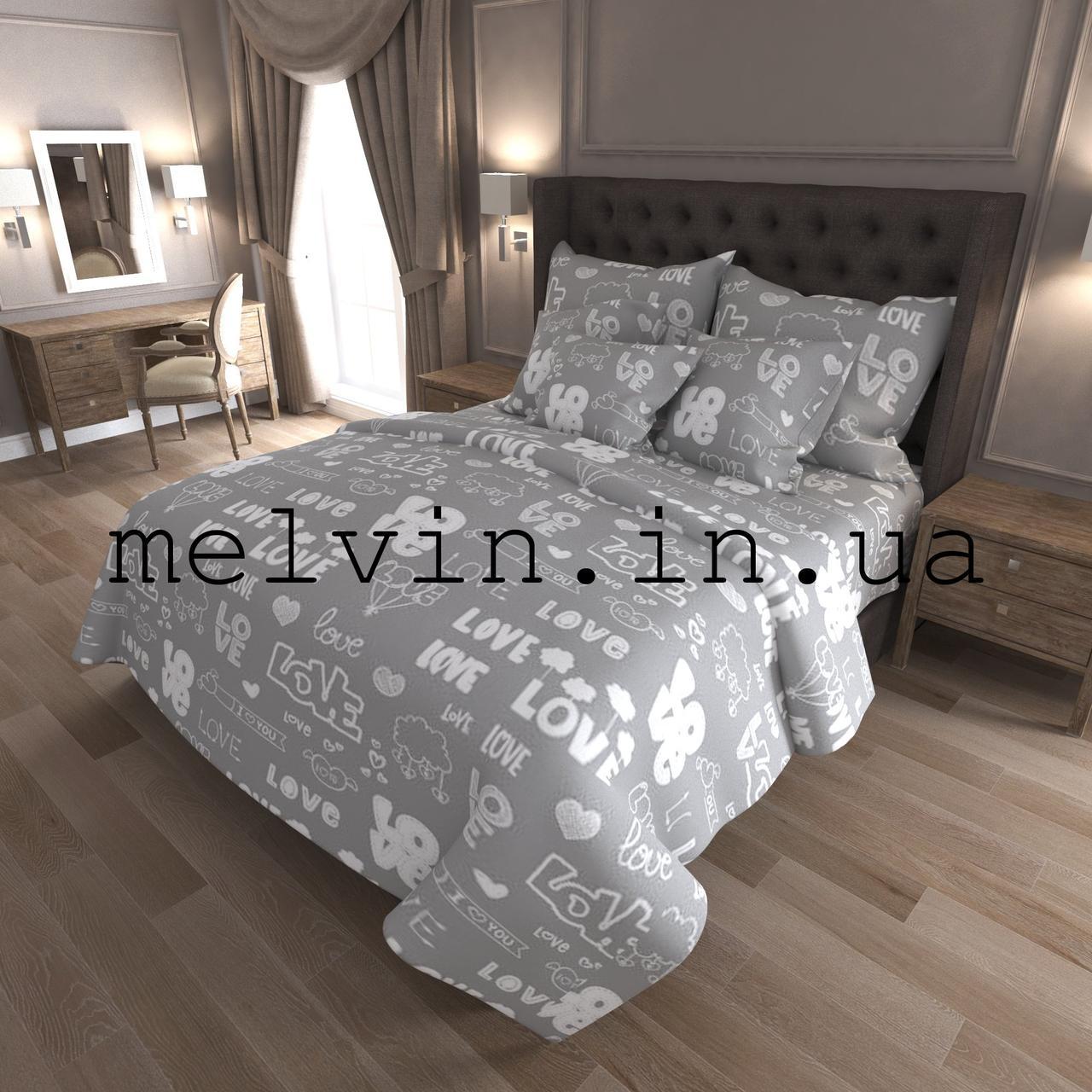 04cca01cc222 Комплект постельного белья бязь евро КАЧЕСТВО ЛЮКС Love : продажа ...