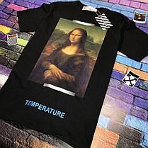 Футболка OFF WHITE Mona Lisa • Топ бренд • Топ качество • Ориг бирки • Все размеры, фото 2