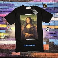 Футболка OFF WHITE Mona Lisa • Топ бренд • Топ качество • Ориг бирки • Все размеры