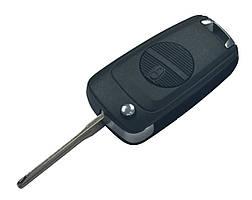 Заготовка NISSAN выкидной ключ 2 кнопки (корпус)