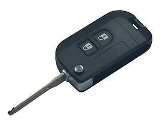Заготовка NISSAN QASHQAI выкидной ключ 2 кнопки (корпус)