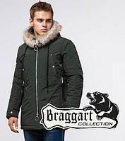 Стильная куртка парка Braggart Arctic - 15231 хаки