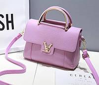 Модная женская сумка LV Фиолетовый