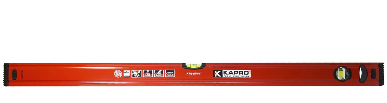 Уровень строительный KAPRO Spirit, 180 см (779-40-1800)