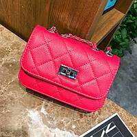 Маленькая женская сумка клатч Розовый, фото 1