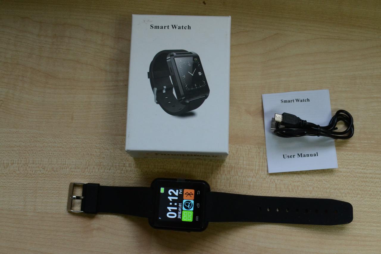 Новые Смарт Часы Smart Watch U8 Black