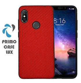 Чохол накладка Primo Case Lux для Xiaomi Redmi Note 6 Pro - Red