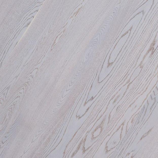 Паркетная доска Polarwood SPACE Дуб Premium  Elara White  Matt 1-полосный