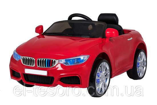 Детский электромобиль T-7619, RED, BMW ,  мягкие EVA колеса