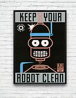 -30%!! Трендовые постеры для дома квартиры на стену плакаты мультфильмы Свинка Пеппа, Пони. Бэтмен , фото 1