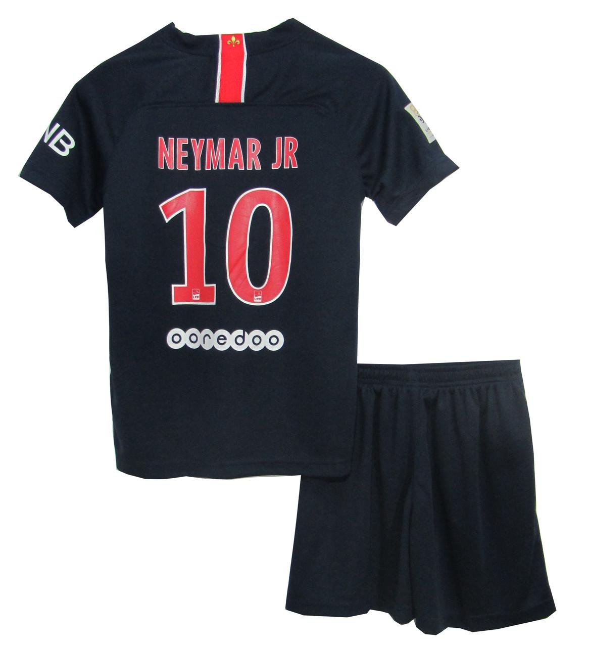 Футбольная форма PSG Neymar 2018 19 основная (реплика) - Интернет-магазин