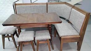 Кухонный уголок Семейный Микс мебель, цвет  орех, фото 2