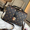Женская сумка в стиле Луи Витон Черный