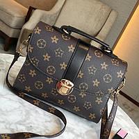 Женская сумка в стиле Луи Витон Черный, фото 1