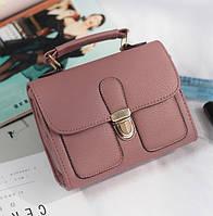 Женская мини сумочка Темно-розовый, фото 1