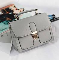 Женская мини сумочка Серый, фото 1