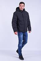 Зимняя куртка мужская Avecs 70181 чёрный