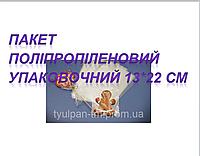 Пакет полипропиленовыйдля кондитерских изделий Упаковка пакеты для пряника (50шт) 13*22см