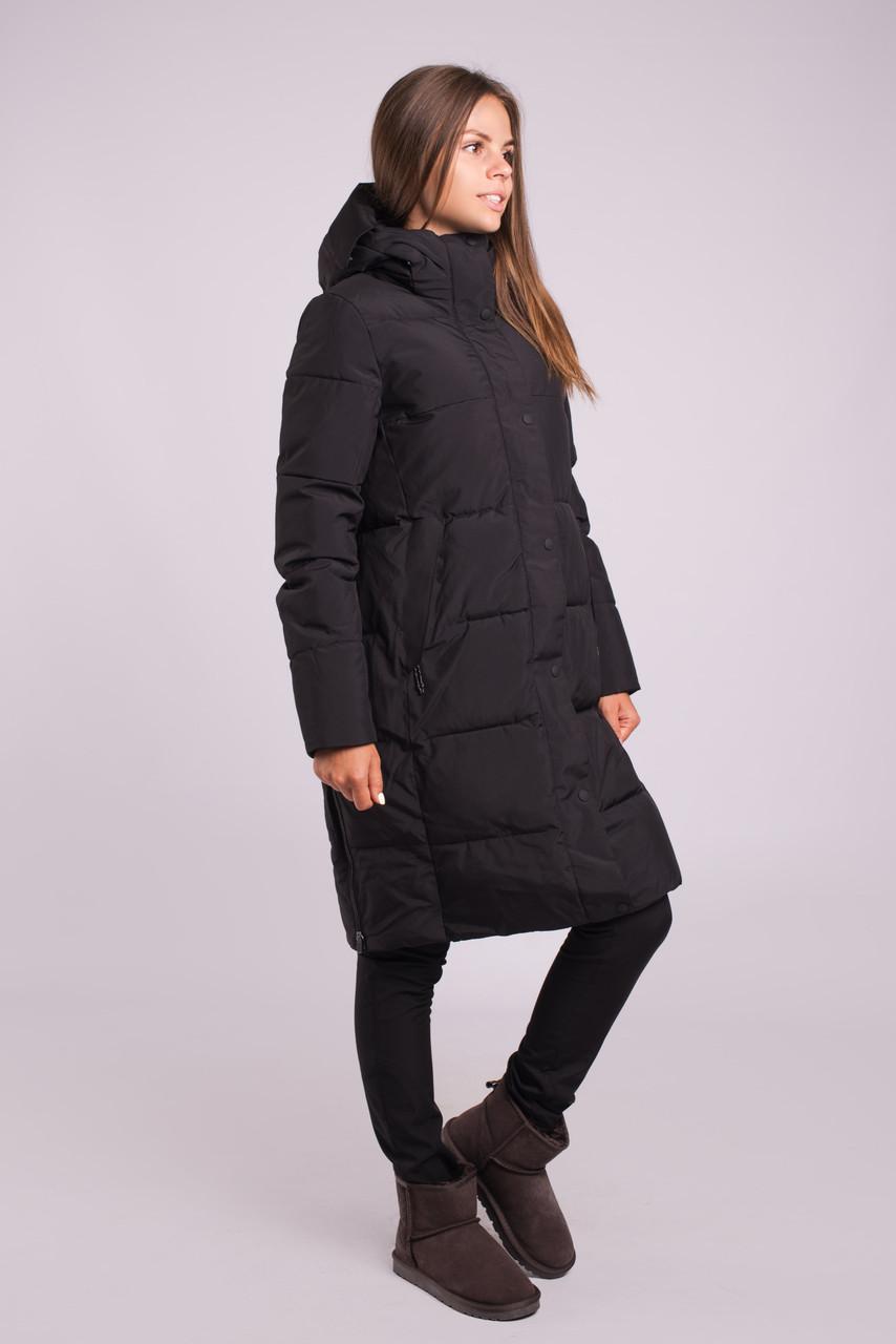 Зимняя куртка женская распродажа Avecs 70298 черный