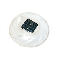Подсветка для бассейна Bestway 58111, плавающая лампа - поплавок. Работает от солнечной батареи