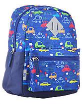 555310 Рюкзак дитячий K-19 Машини, 25*20*11 1 Вересня