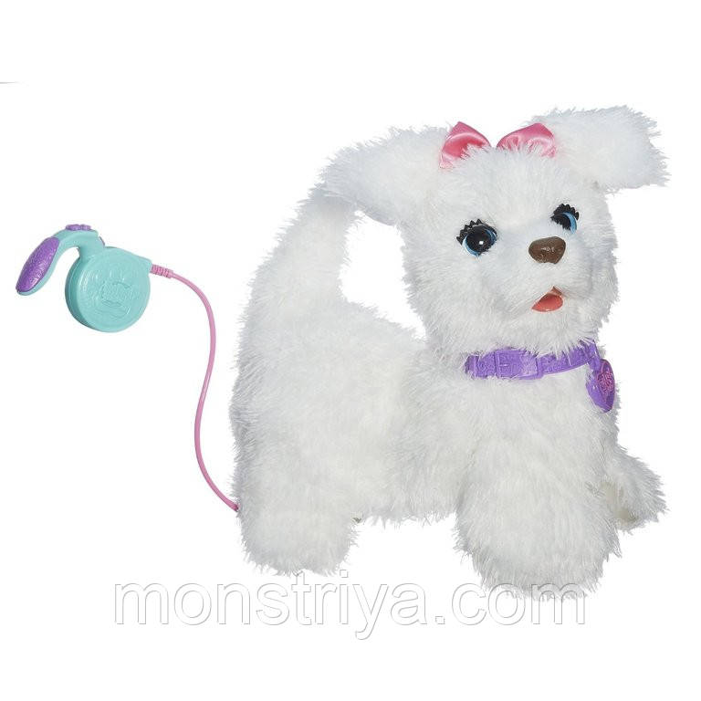 Обновленный интерактивный щенок ФурРиал  Гоу-Гоу Го-Го (Go-Go)  Fur Real Friends