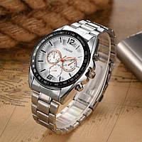 Модные мужские наручные часы Белый