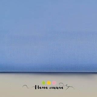 """Ткань Бязь Ранфорс """"Голубой однотон"""", ширина 220 см"""