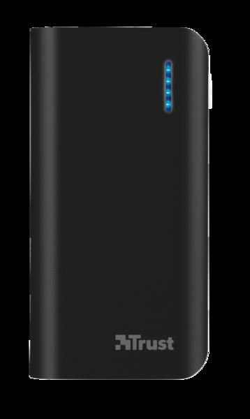 Портативное зарядное устройство TRUST PRIMO POWER BANK 4400 black, red, blue