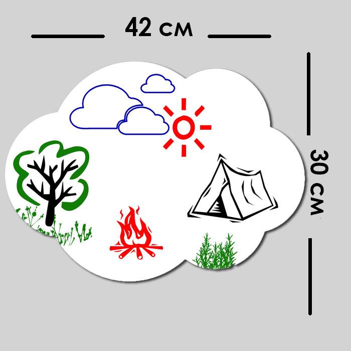 Магнитно маркерная доска для детей, купить детскую маркерную доску, недорого 30 х 42 см - Фабрика Пингвин в Одессе