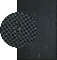 «Резит» рисунок «TOPY», (Китай), р. 400*600*2.0 мм, цв. чёрный - резина подметочная/профилактика листовая