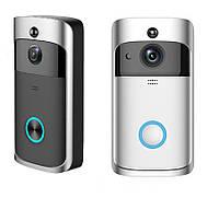Беспроводной дверной видеозвонок с WIFI, Дверной Wi-Fi видео звонок Беспроводной WiFi видеодомофон домофон,