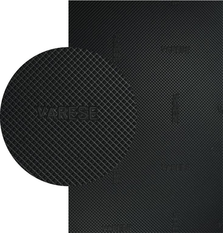 Резина набоечная VARESЕ, ВАРЕС, (Китай), р. 500*500*6.4 мм, цв. черный