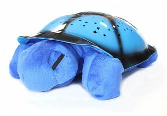 Ночник звездное небо черепаха музыкальный Спартак Blue