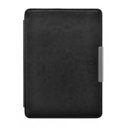 Чехол обложка для Kindle Paperwhite Leather PU Black