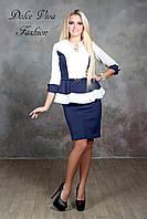 Платье баска молодежное женское из дайвинга