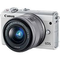 Фотоаппарат Canon EOS M100 Kit 15-45mm IS STM White Гарантия от производителя ( на складе )