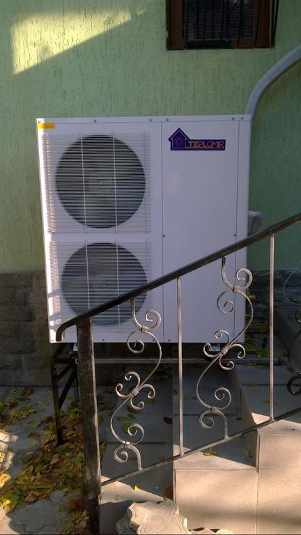 Тепловой насос TEPLOMIR EVI15 split в г.Новомосковск 14
