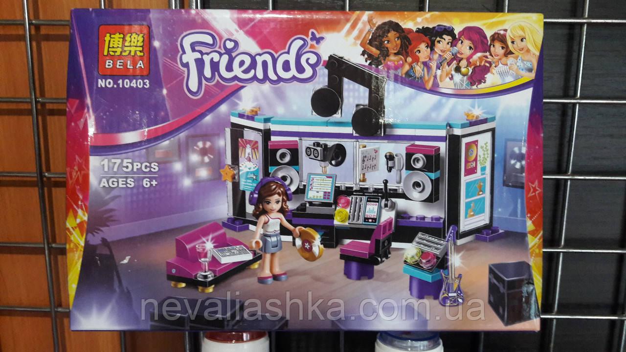 Конструктор  Friends для девочки 175 деталей от 6 лет