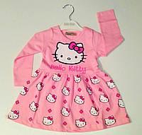 Платье  для девочки Хелло Китти  на рост 92- 98