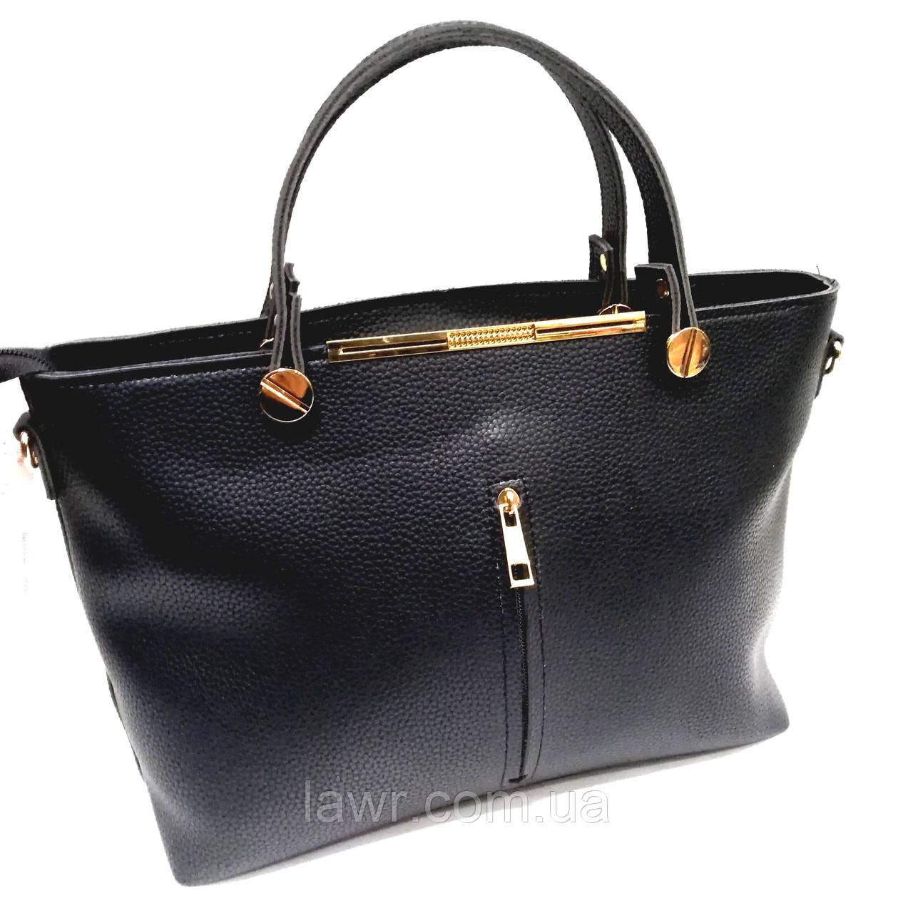 4e903750e780 Купить Женская сумка, качественная брендовая, черная, стильная, 0541 ...