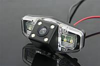 Камера заднего вида штатная в ССD качестве для Honda Accord, Civic, Acura TSX, PC1363. Обзор 170°