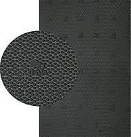 Резина набоечная GTO Italia (Китай), р. 500*500*6.4 мм, цв. черный