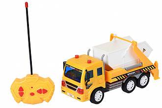 Спецтехника Same Toy Машинка на р/у CITY Грузовик с контейнером
