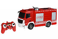 Спецтехника Same Toy Машинка на р/у Пожарная машина с распылителем воды