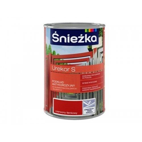 Грунтовка антикорозійна для металу Sniezka UREKOR S, 1л (PL)