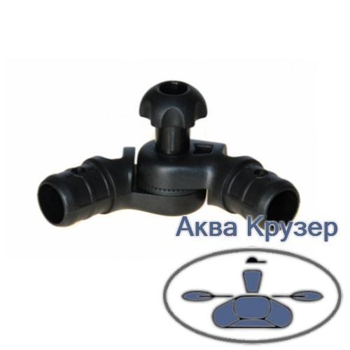 Tl257 Borika FASTen Наклонно-соединительный узел для труб Ø 22, 29 мм (Левый)