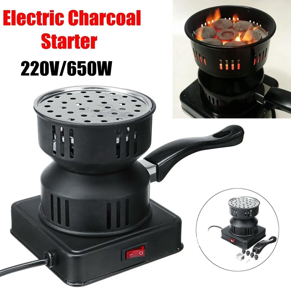 Печка для разжигание  углей для кальяна плитка