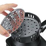 Печка плитка  для розжига   углей для кальяна, фото 9