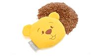 Подушка-грелка 12х11см с семенами льна МишкаOrganic Flax